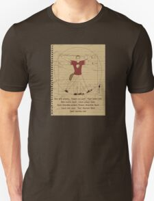 Big Vitruvian Theory Unisex T-Shirt