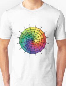 Spider Web - Color Spectrum Shift T-Shirt