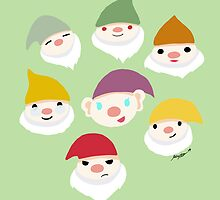 Seven Dwarves by mayiying89