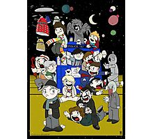 Dr Who Chibi Playtime Photographic Print