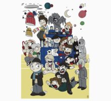 Dr Who Chibi Playtime by Chris McQuinlan