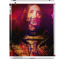 The divine revelation of Joan of Arc iPad Case/Skin