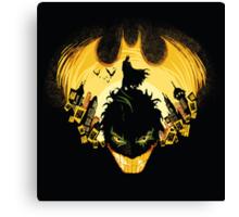 Gotham nightmare Canvas Print