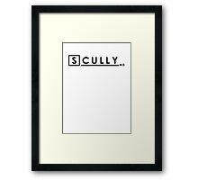 Scully, MD Framed Print