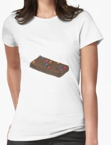 Cosmic Brownie Womens Fitted T-Shirt