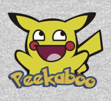 Pikachu Smiley - peekaboo by RobertKShaw
