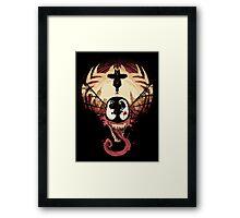 Spider nightmare Framed Print