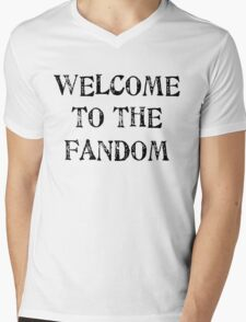 Welcome to the fandom! Mens V-Neck T-Shirt