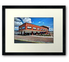 Cobalt CBX Central Building Framed Print