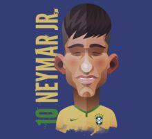 Neymar, World Cup Brazil 2014 by alexsantalo