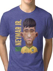 Neymar, World Cup Brazil 2014 Tri-blend T-Shirt