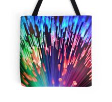 Multi-colored fibre optics Tote Bag