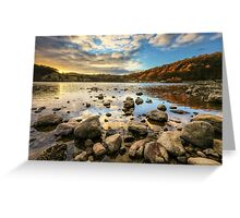 Ullswater at Sunset Greeting Card