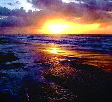 Atlantic Ocean Sunrise by Phil Perkins