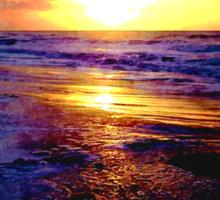 Atlantic Ocean Sunrise Sticker