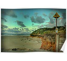 Dawn on Anglesea Beach Poster