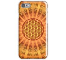 FLOWER OF LIFE - SACRED GEOMETRY - HARMONY & BALANCE iPhone Case/Skin