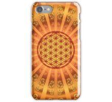 FLOWER OF LIFE - SACRED GEOMETRY - HARMONY & BALANCE iPhone Case/Skin