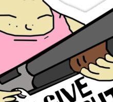 Big Lez Show - Shotgun Sticker