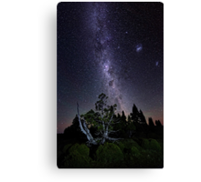 Hell of a Sky Canvas Print