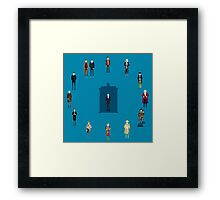 WHAT TIMELORD IS IT? Framed Print