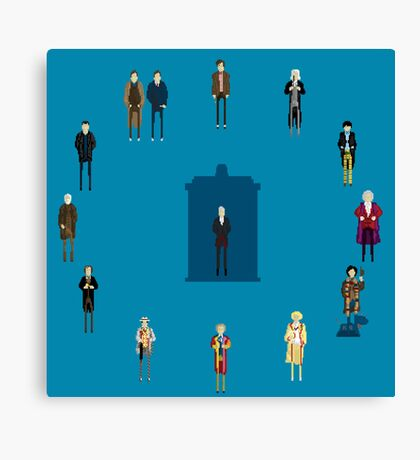 WHAT TIMELORD IS IT? Canvas Print