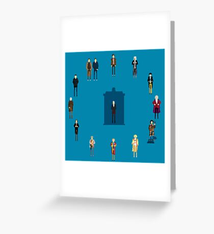 WHAT TIMELORD IS IT? Greeting Card