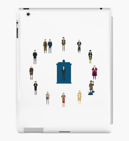 WHAT TIMELORD IS IT? iPad Case/Skin