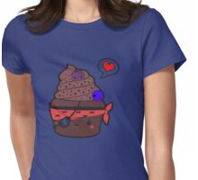 pirat muffin Womens Fitted T-Shirt