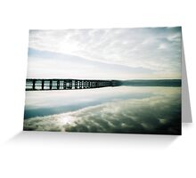 Tay Rail Bridge Greeting Card