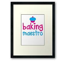 Baking Maestro Framed Print