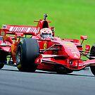 Red Ferrari   Ferrari Race Day 2014   Sydney Motor Sport Park by Bill Fonseca