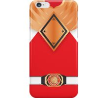 MMPR Armoured Red Ranger Phone Case iPhone Case/Skin