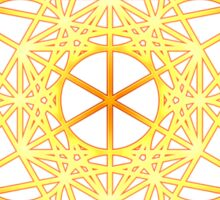 Metatrons Cube, Flower of life, Sacred Geometry Sticker
