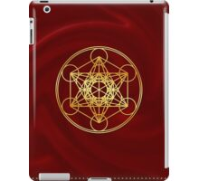 Metatrons Cube, Flower of life, Sacred Geometry iPad Case/Skin