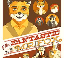 Mr. Fox Poster by xtotemx