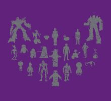 Robots (Distressed) - Various by robotplunger