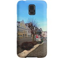 Pictoresque traditional village center | architectural photography Samsung Galaxy Case/Skin