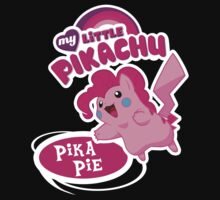 My Little Pikachu - Pika Pie by novawhitefire