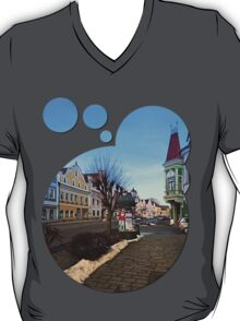 Pictoresque traditional village center | architectural photography T-Shirt