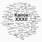 Kairos 32 tshirt (black print) by Elkin  Jaramillo
