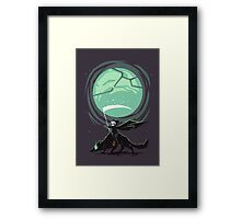 Little Reaper Framed Print