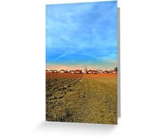 Horizon, clouds, sky and sunset | landscape photography Greeting Card