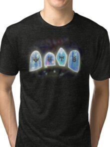 The Divine Barrier (Jade Cocoon) Tri-blend T-Shirt
