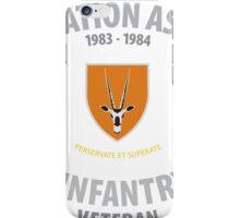 SADF Operation Askari (8 SAI) Veteran Shirt iPhone Case/Skin
