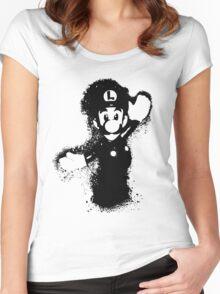 Luigi Women's Fitted Scoop T-Shirt