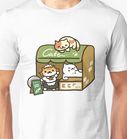 Tubbs at the Cafe - Neko Atsume Unisex T-Shirt