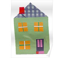 Home Sweet Home Little Green House Poster