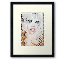 Yeti Queen Framed Print