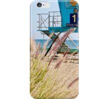 Malibu Lifeguard Tower on the beach iPhone Case/Skin